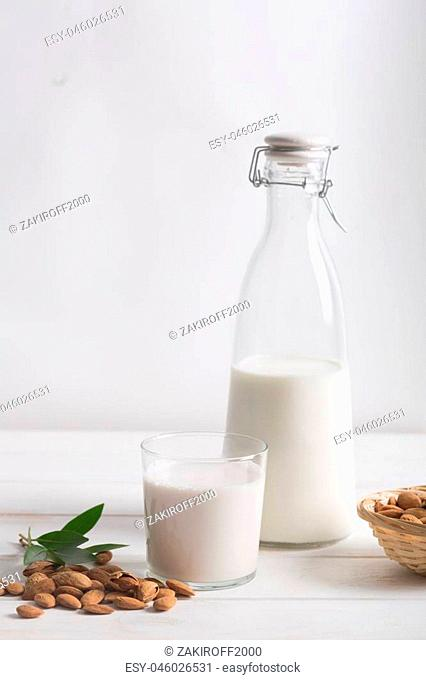 People make homemade almond milk using blender or food processor. This beverage is a delicious, alkalizing drink that is a perfect alternative if you're...