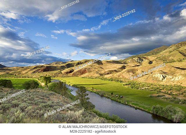 John Day Wild and Scenic River, John Day Fossil Beds National Monument Oregon