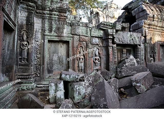 Ta Prohm Temple, Angkor. Cambodia