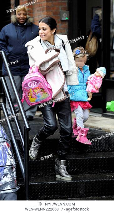 Bethenny Frankel picks her daughter up from school Featuring: Bethenny Frankel, Bryn Hoppy Where: Manhattan, New York, United States When: 04 Mar 2015 Credit:...