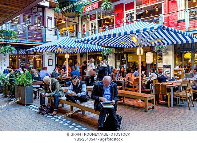 Kingly Court off Carnaby Street, London, UK