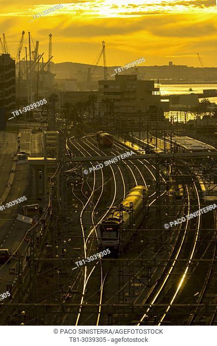 Tarragona train station, Spain