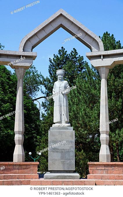 Statue in Dubovy Park, Bishkek, Kyrgyzstan