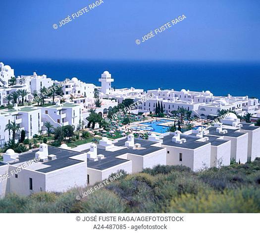 'Pueblo Indalo' Housing development. Mojácar. Almería province, Spain
