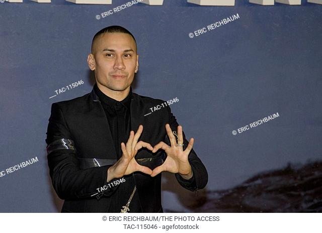 Taboo in attendance at The Revenant Premiere at the Empire Leicester Square Theater on January 14, 2016 in London, England