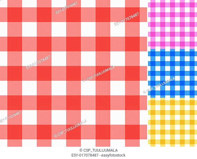 Seamless traditional tablecloth pat