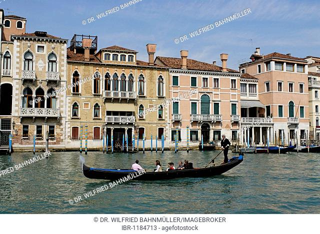 Canale Grande, Venice, Venezia, Italy, Europe