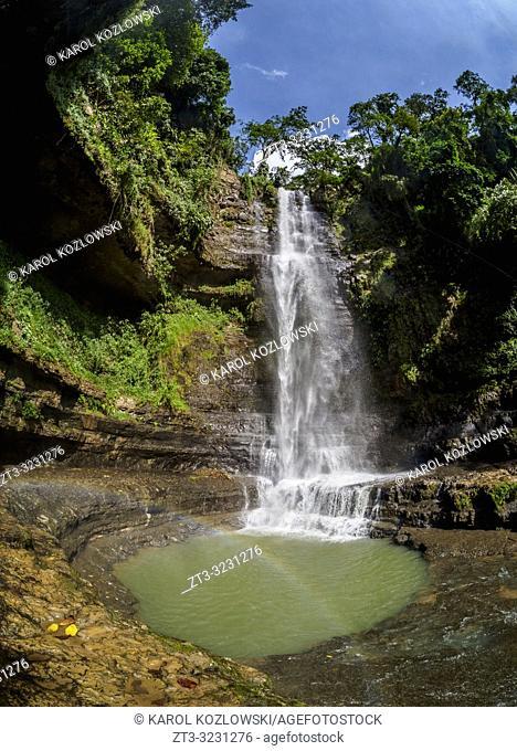 Juan Curi Waterfall near San Gil, Santander Department, Colombia
