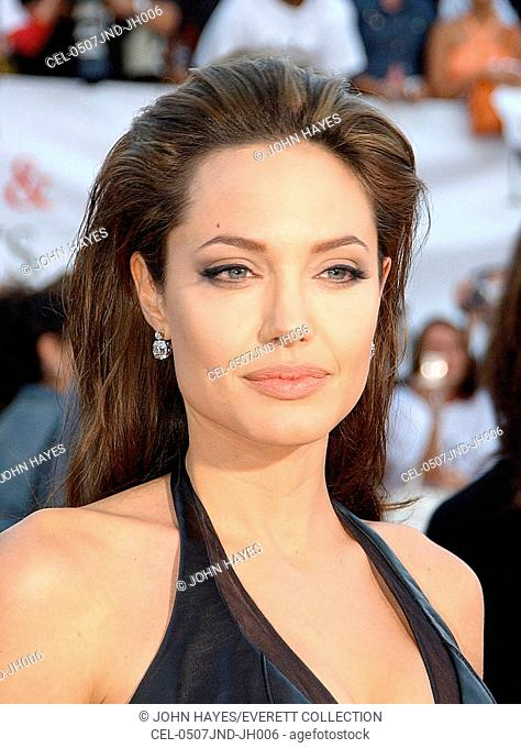 Angelina jolie at arrivals for mr Stock Photos and Images