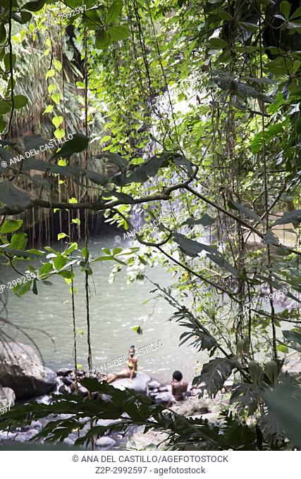Annandale falls Grenada Caribbean