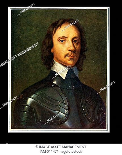 Oliver Cromwell (1599-1658) English soldier and statesman. Leading Parliamentarian in the English Civil Wars. Lord Protector of England (1653-1658)