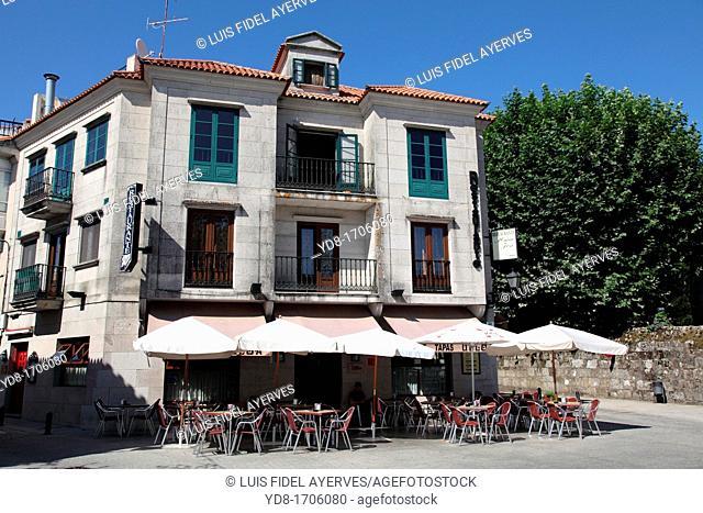 Restaurant San Jose, Cambados, La Coruna, Galicia, Spain, Europe