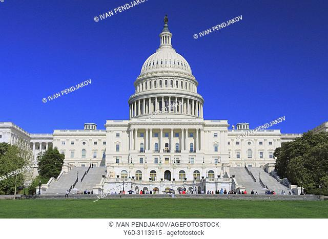 The United States Capitol, Washington D. C. , USA