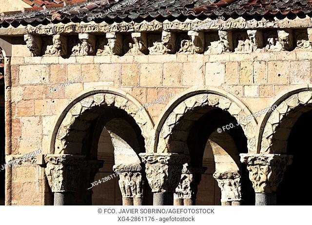 Cover of the Romanesque church of San Esteban - XIII Century - Segovia - Castilla-León - Spain - Europe
