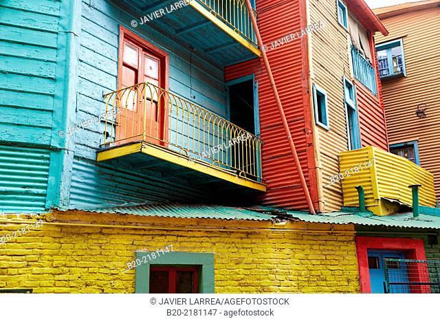 Caminito street. La Boca. Buenos Aires. Argentina