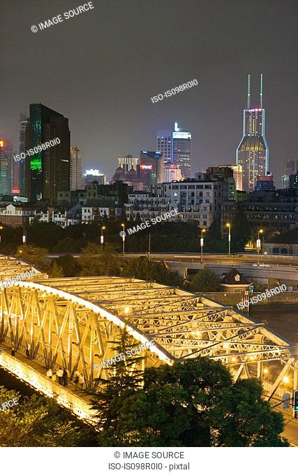 Garden bridge shanghai