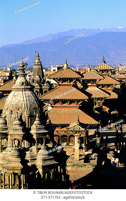 Durbar Square. Patan. Kathmandu valley, Nepal