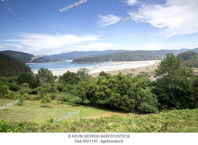 Vilarube Beach; Galicia; Spain