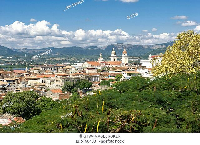 Cathedral Nuestra Señora de la Asuncion, seat of government of the province, Santiago de Cuba, Cuba