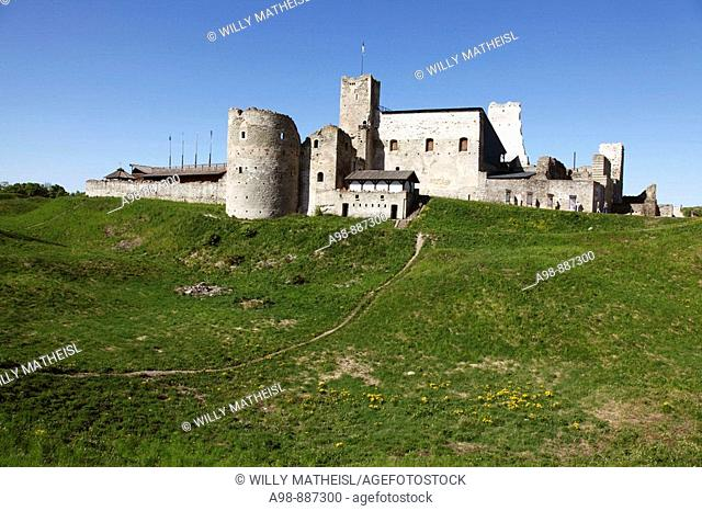 Ruin of the medieval fortress Ordensburg Rakvere, Republic of Estonia, Europe