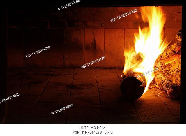 Fireplace, Fire, Rio Claro, São Paulo, Brazil