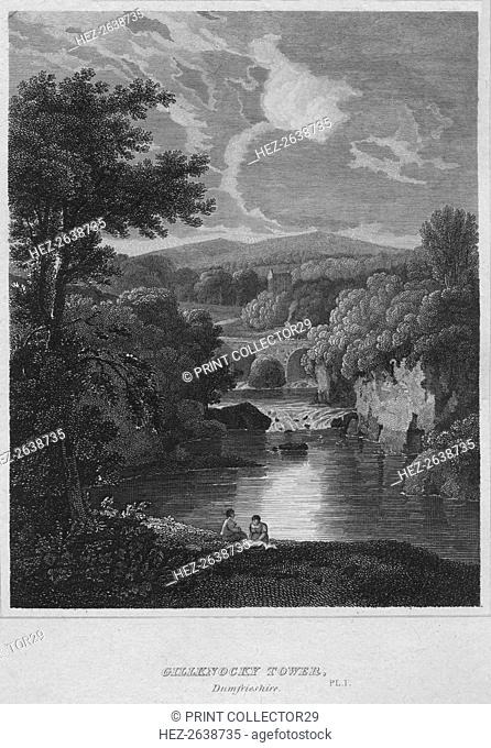 'Gillknocky Tower, Dunfrieshire', 1814. Artist: John Greig