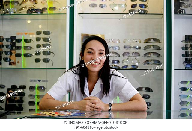 optical  shop assistant  in Saigon,Vietnam