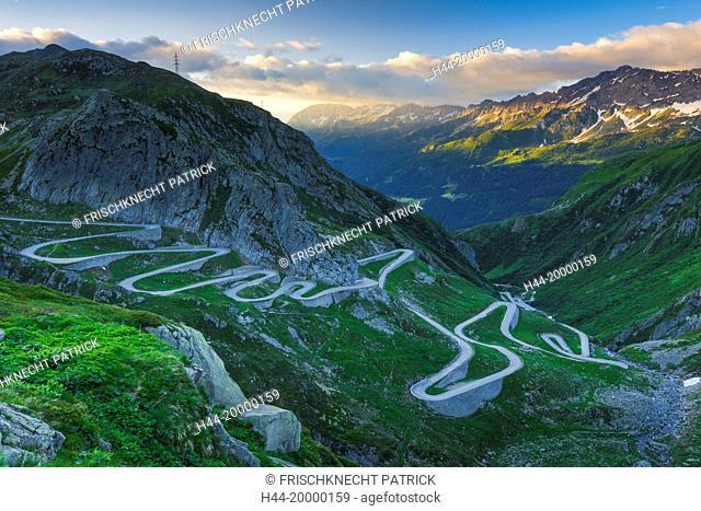 Old Gotthard mountain pass, Switzerland