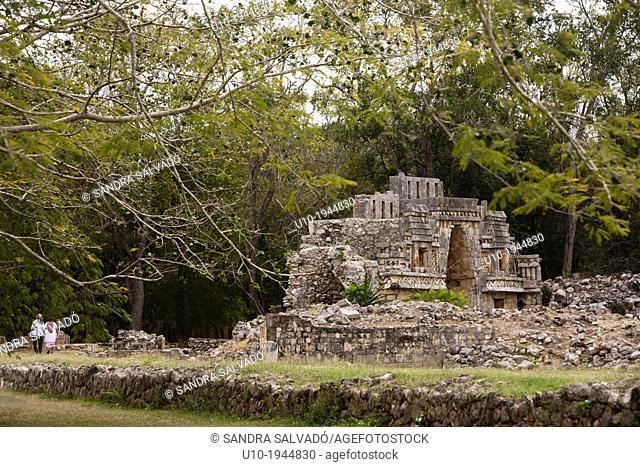 Mayan arqueological site Labná, Peninsula Yucatan, Mexico