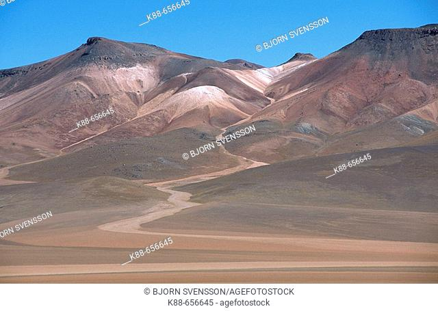 Mountain scenery. South Lipez, Bolivia