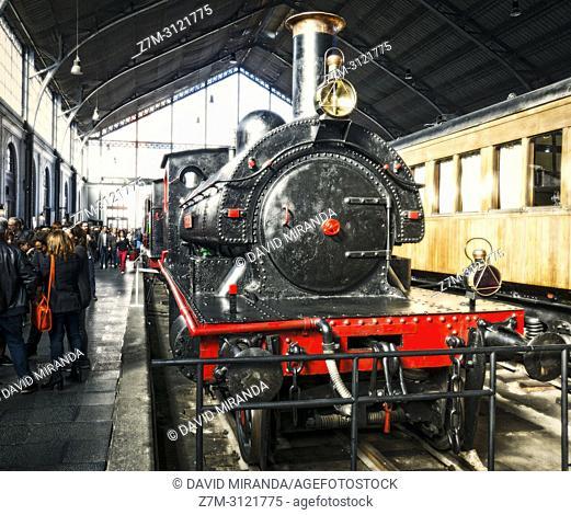 Museo del Ferrocarril. Madrid, Spain