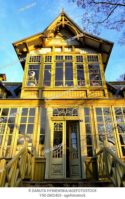 Open-air Museum of Lodz Wooden Architecture, integral part of Central Museum of Textiles in historic building of Geyer's White Factory
