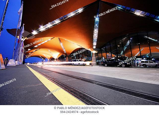 Entrance to KLIA airport of Kuala Lumpur, Selangor, Malaysia