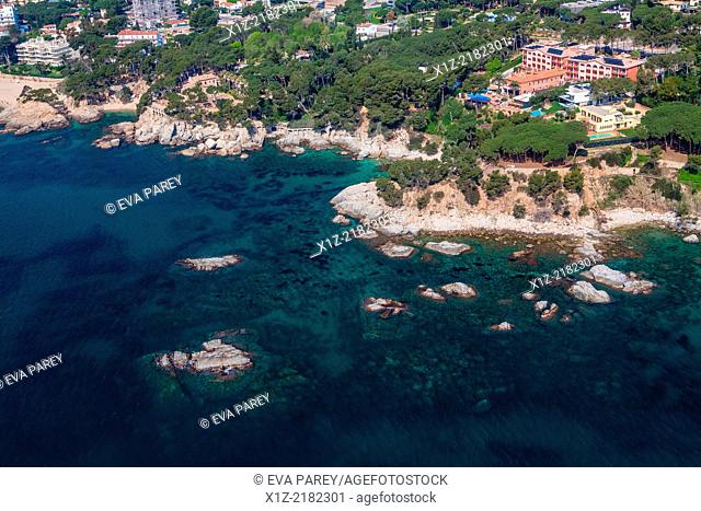 Punta dels Escuits, in Platja d'Aro. Costa Brava