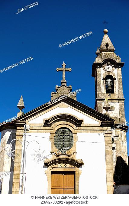 Old church in Vila Nova de Gaia, Portugal
