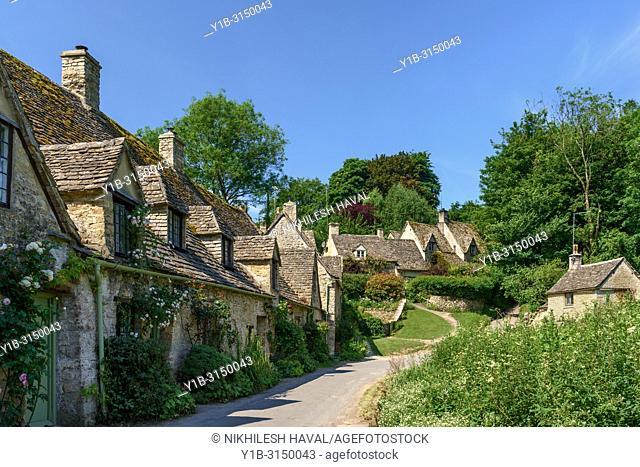 Arlington Row Cottages, Bibury, Cotswolds, UK