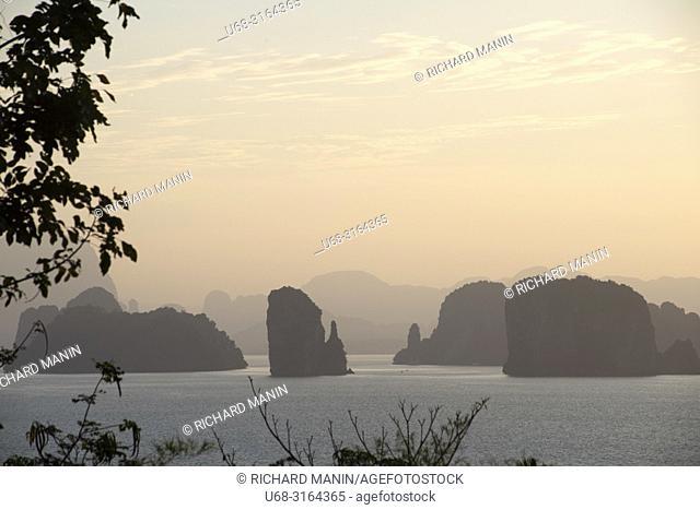 Thailand, Krabi bay
