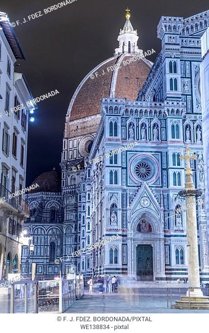 Cathedral of Santa Maria del Fiore, Piazza del Duomo, Firenze, Italy