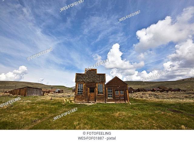 USA, California, Sierra Nevada, Bodie State Park