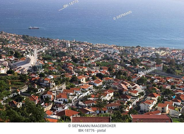 Funchal - view from Monte - Madeira