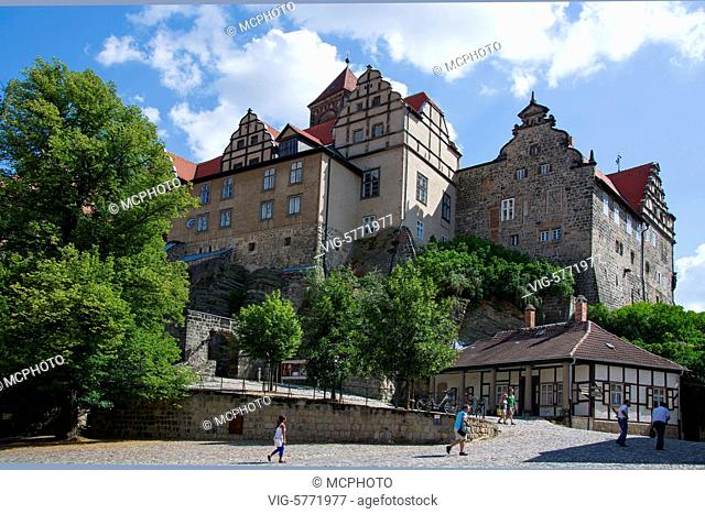 Quedlinburg, Sachsen-Anhalt, - Quedlinburg, Sachsen-Anhalt, Germany, 23/07/2014