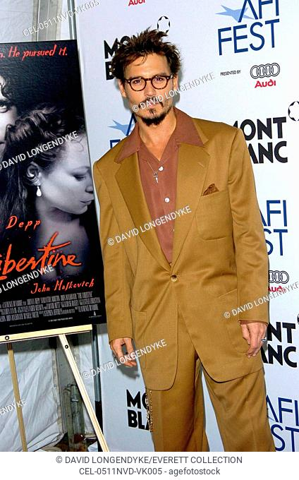 Johnny Depp at arrivals for THE LIBERTINE Premiere at AFI FEST 2005, The Arclight Hollywood Cinema, Los Angeles, CA, November 11, 2005