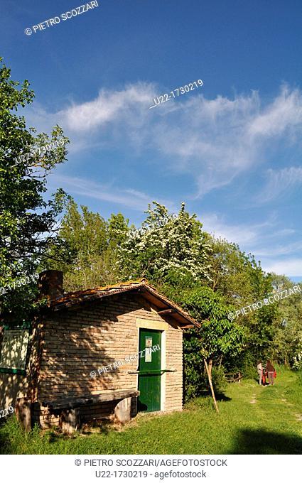 Po River Delta, Italy: Punte Alberete nature reserve