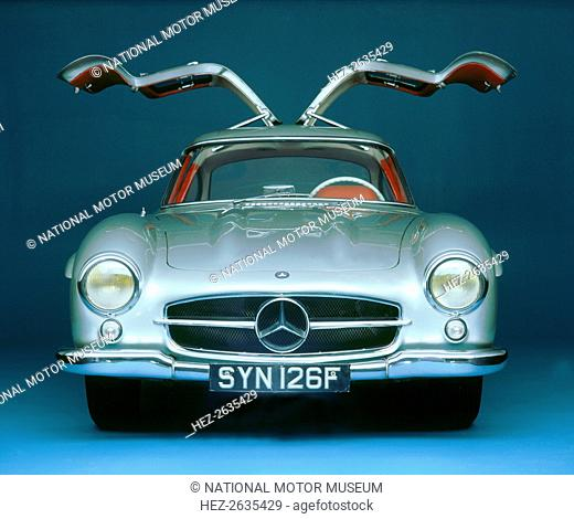1957 Mercedes Benz 300 SL Gullwing. Artist: Unknown