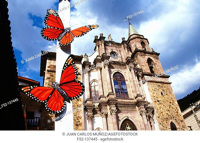 Butterfly festival. Angangueo. Mexico