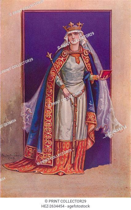'Matilda of Flanders', c1925. Artist: Herbert Norris