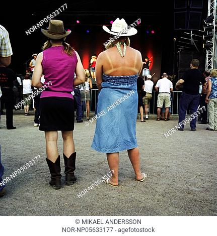 Festival of country. Sweden