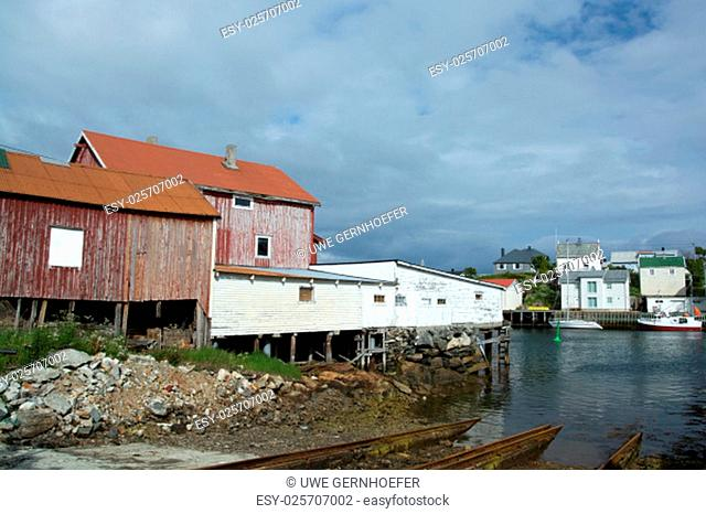 henningsaer is a fishing village in the norwegian municipality vagan,located on two small islands off the lofoten island austvagoya in norway