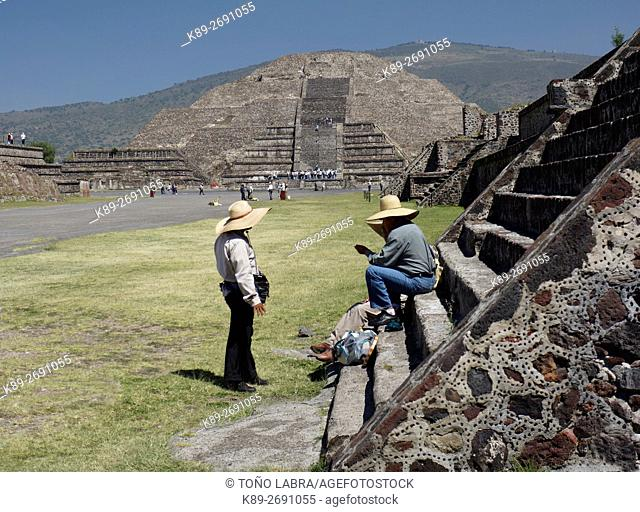 Pyramid of the Moon. Teotihuacan. Mexico