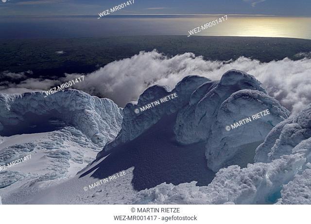 New Zealand, View of Mount Taranaki